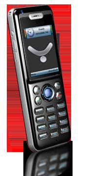 Téléphone WIFI E800 Black