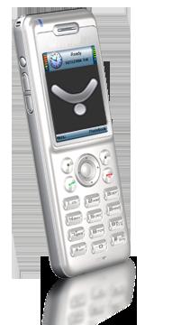 Téléphone WIFI E800 Blanc
